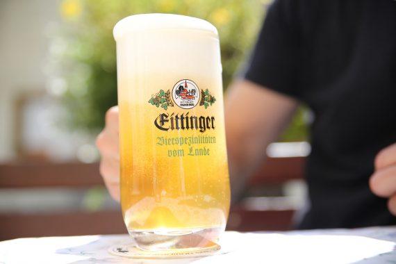 Helles Eittinger Fischerbräu First Served