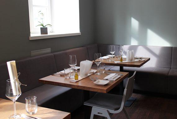 Im Restaurant Feinschmecker München