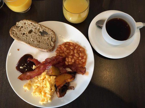 English breakfast in Reykjavik